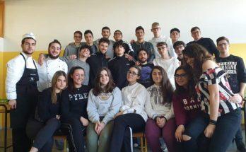 classe 4 ENO dell'IISS Consoli – Pinto